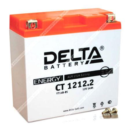 Аккумулятор Дельта AGM 14 Ач п.п. (YT14B-BS) CT 1212.2