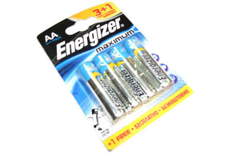 Батарейка Energizer LR-06 Maximum BI*4 ПРОМО 3+1